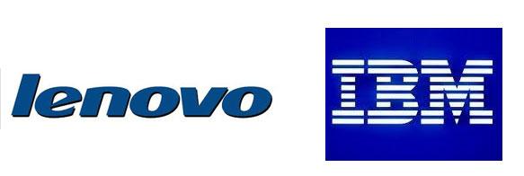 IBM and Lenovo Logos
