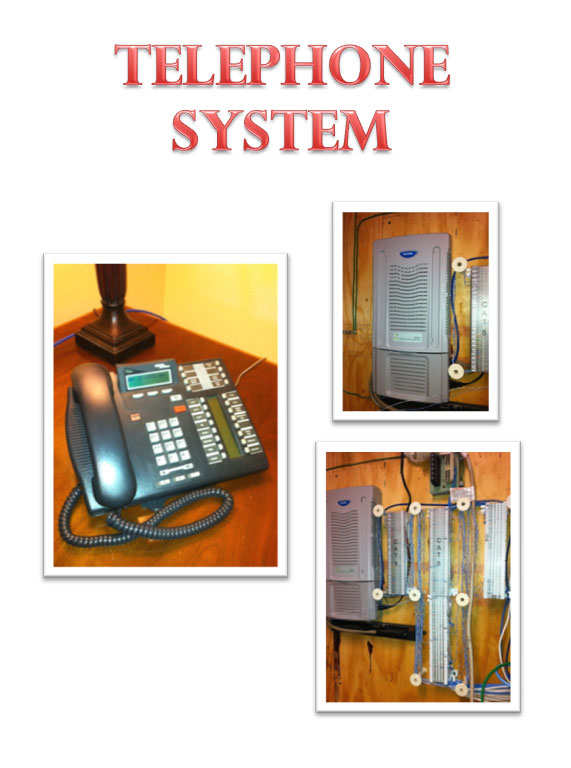 Telecom Systems Collage